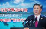 """习近平用这5句话给世界政要们介绍中国""""新时代"""""""