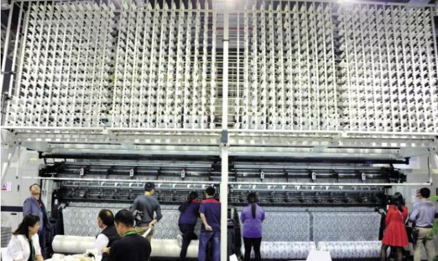 一半谨慎一半乐观 中国纺机行业稳步前行!