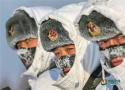 零下30度,练兵的温度