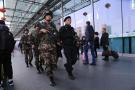 """温州武警开启""""春节模式"""" 为祖国守岁 为人民站岗"""