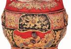 宁绍地区传统嫁妆的装饰风格