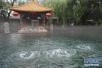 济南趵突泉水位再涨2厘米!但仍在橙色警戒线内