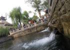 濟南:雨後水位上漲,黑虎泉汩汩流淌