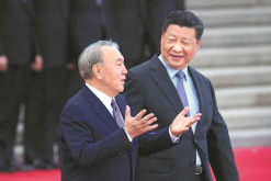 Xi urges enhanced Kazakh ties