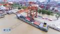 推动长江航运供给侧改革 武汉打造长江内河最大集装箱船