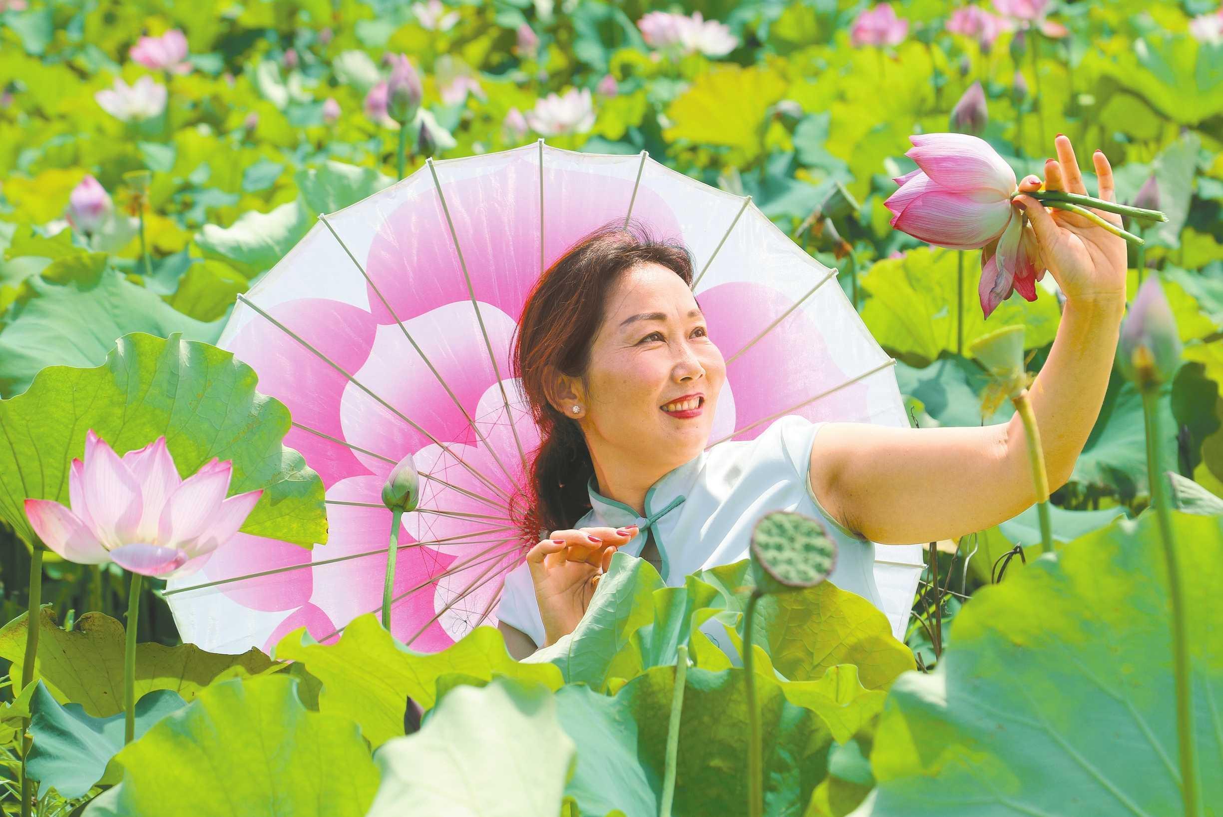 光山:美丽经济花开正
