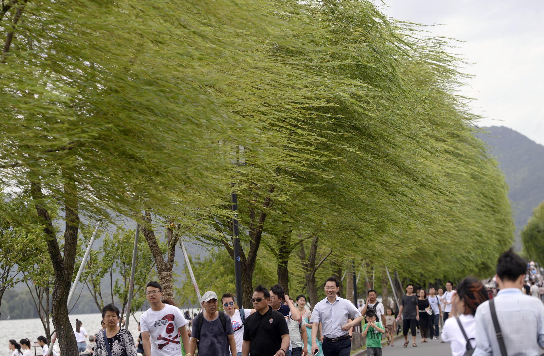 """受台风""""玛莉亚""""影响 杭州发布大风黄色预警"""