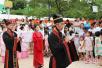 郑州绿博园办端午百服节 百名大学生穿汉服祭拜