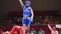亚运武术女子散打52公斤级决赛 李玥瑶夺冠