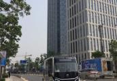 5G+来了!无人驾驶小巴畅行郑州龙子湖智慧岛!