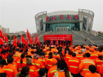 河南商城:爱心捐赠让环卫工人过暖冬