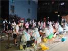 许昌建安区:人员间隔一米 社区组织有序