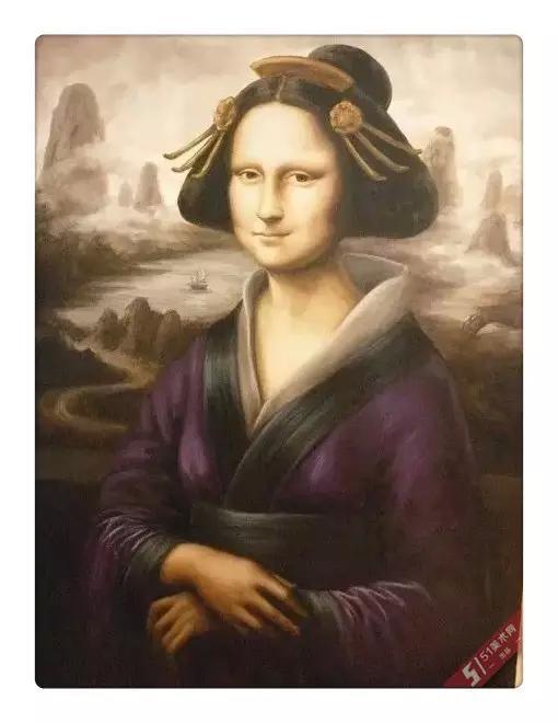 蒙娜丽莎也疯狂 图片合集图片