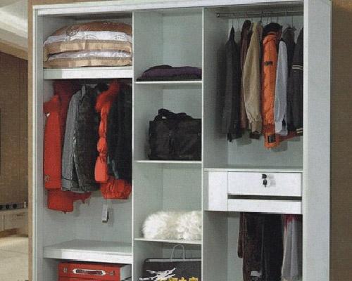 衣柜的内部结构图