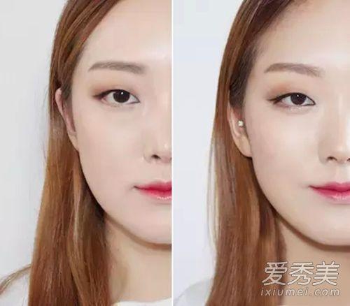 单眼皮眼妆画法