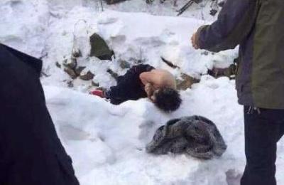 吉林男子喝酒后雪地冻死