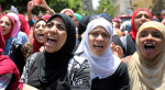 埃及高中生游行抗议考试推迟取消