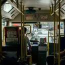 武汉话报站的公交车