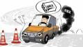 河南沁阳开展治理黄标车宣传活动