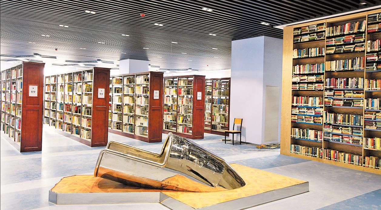 郑州高校酷炫图书馆