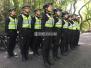 武力值超高的帅哥美女警察,毕业仪式是这样的