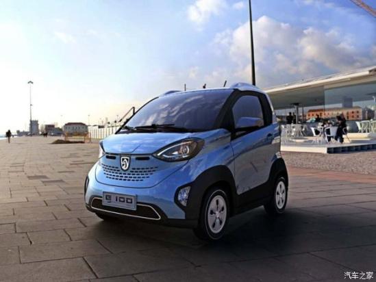 超160km 宝骏E100将于明年上市高清图片