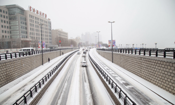 全国多地迎降雪天气