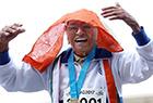 百岁老人田径赛夺冠