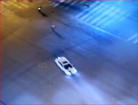 中牟男子酒驾遇警方查车 撞了民警一次又一次!
