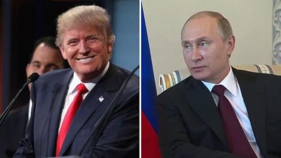 特朗普 普京/核心提示:这里谈的是为美当选总统就职后与俄总统的电话交谈...