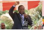 津巴布韦新总统埃默森·姆南加古瓦宣誓就职
