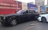 """沈阳""""卖房""""豪车被撞现场:现代车保险定损员都懵了"""