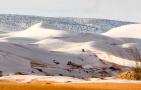 撒哈拉沙漠下雪了!