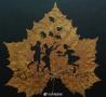 树叶里雕出的王国