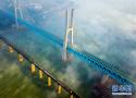世界首座双层六线钢桁梁铁路斜拉桥