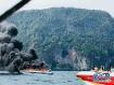 泰国快艇起火