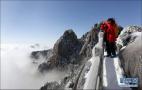 """黄山""""五绝""""之冬雪"""