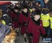 朝鲜拉拉队姑娘颜值高