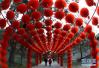 在北京过年的必去打卡地:北京地坛张灯结彩迎庙会