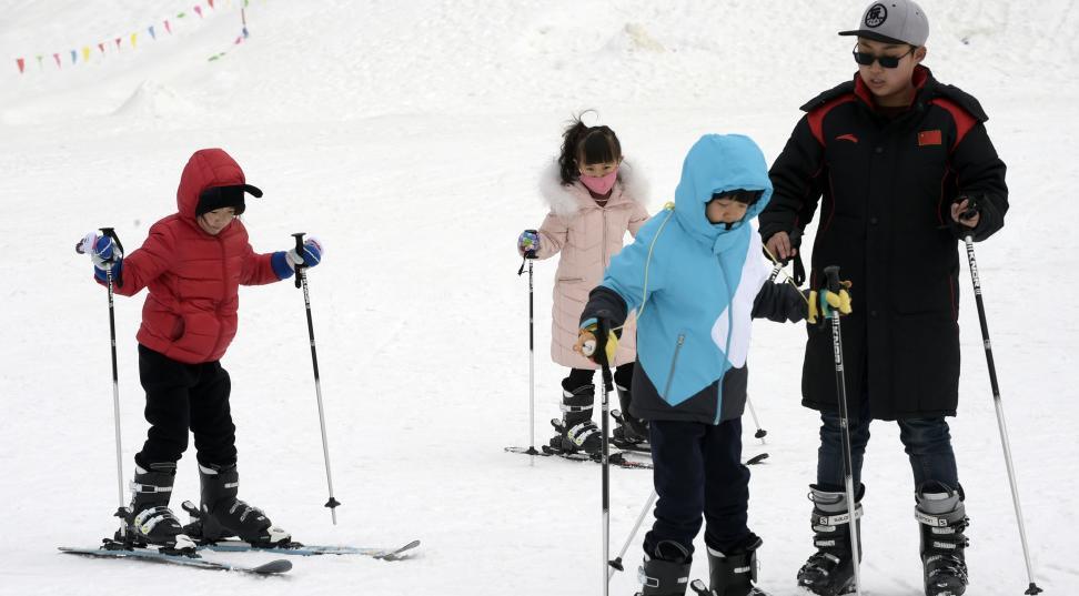 """新金沙线上娱乐开户:中国滑雪热持续""""升温""""你是1750万分之一吗?"""
