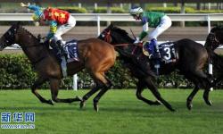 香港近9萬人次觀看新年賽馬 一同歡度新歲