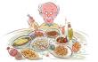 """提醒:预防消化系统""""节日病""""应当饮食""""有节"""""""