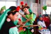 2018山东(商河)秧歌文化旅游节启幕 山东三大秧歌聚首商河