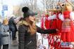 """保加利亚首都民众欢庆""""三月节"""""""