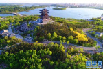 唐山南湖生态旅游景区免费开放 朋友圈刷屏百姓点赞