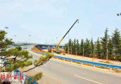 洛阳市南环路孙辛路段:打造新的城郊绿廊
