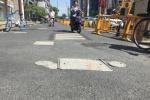 杭州一不足百米路上有百余窨井盖,市政部门:与地铁施工有关