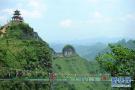 贵州万山废弃矿山变旅游景点