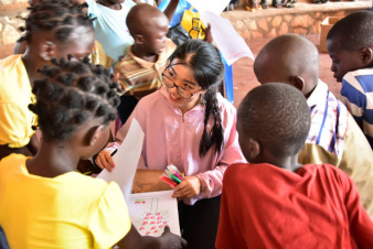 Chinese medical team brings care to children in Central African Republic
