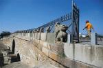 """北京近600岁八里桥年底禁车 昔日通州八景之一""""长桥映月""""所在地"""